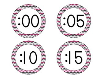 Brilliant Berry Clock Numbers