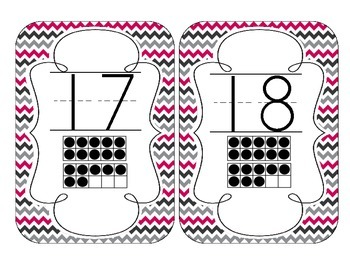 Brilliant Berry Number Cards 1-20