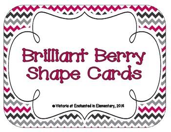 Brilliant Berry Shape Cards