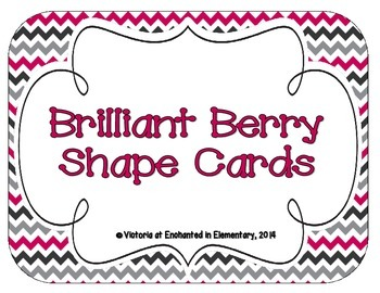 Brilliant Berry Shape Cards