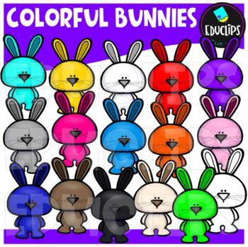 Brilliant Bunnies Clip Art Bundle {Educlips Clipart}