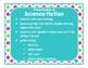 Brilliants Decor: Genre Posters & Book Bin Labels