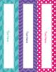 Brilliants Decor: Editable Binder Covers & Spines