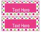 Brilliants Decor: Editable Nameplates