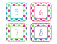 Brilliants Decor: Number Labels