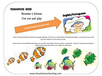 Brincadeira Tamanho Size Ordering Play