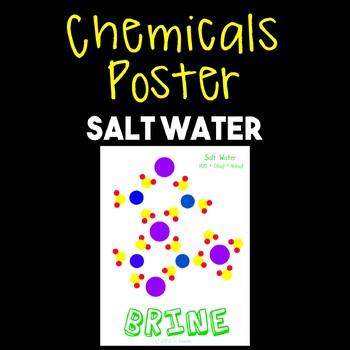 Chemicals Poster--Salt Water