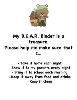 Bring Everything Always Ready Binder