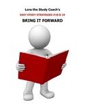 Bring It Forward by Lora the Study Coach