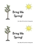 Bring Me Spring early reader book