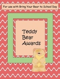 Bring Your Bear To School Individual Awards