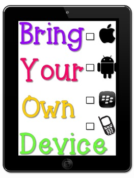 iPad Bring Your Own Device Poster