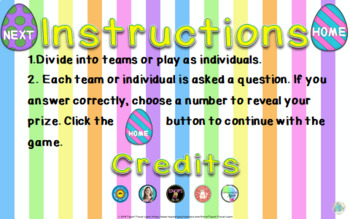 Bring Your Own Questions Easter PPT Review Game Ten Board Bundle