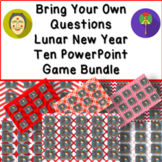 Bring Your Own Questions Lunar New Year PowerPoint Review Game Ten Board Bundle