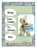 Bring Your Teddy to School Day
