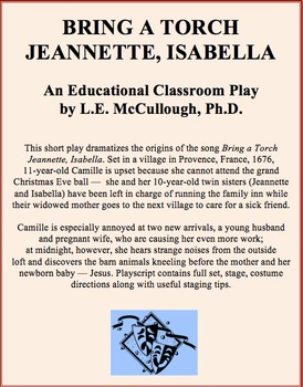 Bring a Torch, Jeanette, Isabella (A Christmas Play)