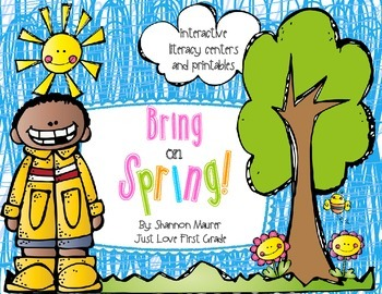 Bring on Spring! {Interactive Literacy Centers, Activities, & Printables}