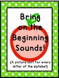Bring on the Beginning Sounds!