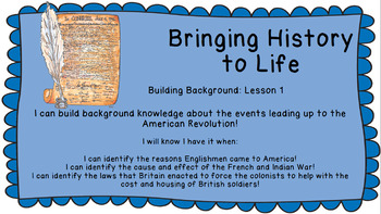 Bringing History to Life Building Background 1