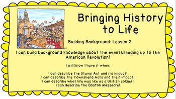 Bringing History to Life Building Background 2