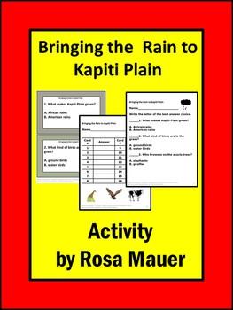 Bringing the Rain to Kapiti Plain Book Unit