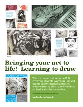 Bringing your art to life!  The ultimate drawing unit (WITH 2 VIDEO TUTORIALS)