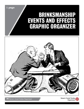 Brinksmanship Events and Effects Graphic Organizer