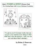 Brin's Weihnachten Picture Find - Two Pages