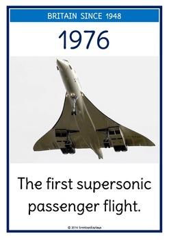 Britain Since 1948 Timeline