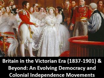 Britain in the Victorian Era & Beyond:  Power Point, Notes, Worksheet