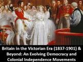 Britain in the Victorian Era & Beyond:  Power Point, Notes