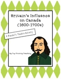 Canadian History: Britain's Influence on Canada (1600-1700s) Reader's Theatre
