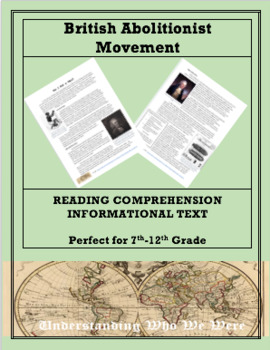 British Abolitionist Movement