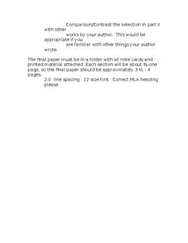 British Authors Essay