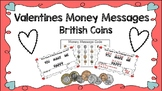 British Coins Valentines Mystery Messages