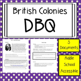 British Colonies DBQ Essay