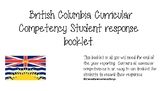 BC Core Competency Student Response Book (no prompts)