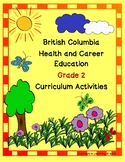 British Columbia Health & Career Education Grade 2 Curriculum Activities