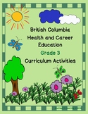 British Columbia Health & Career Education Grade 3 Curriculum Activities