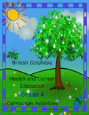 British Columbia Health & Career Education Grade 4 Curriculum Activities