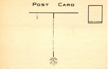 British Commonwealth Propaganda: digital print of a postcard from World War II.