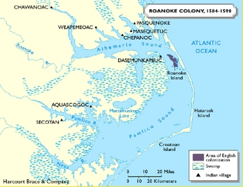 British Control of the South--Jamestown and Middle Passage/Colonial