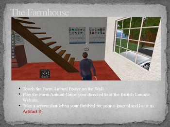 British Council Isle Second Life Virtual Field Trip