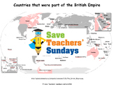 British Empire Lesson plan and Worksheet / Activity