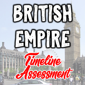 British Empire Timeline Assessment - Historical Thinking Skills - PBL
