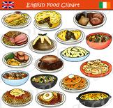 British Food Clipart - English & Irish Cuisine