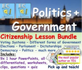 British Government and Politics Bundle