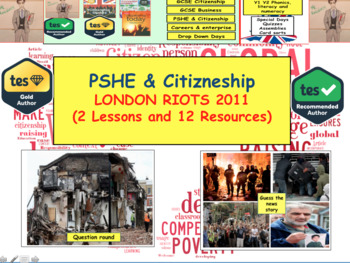British politics History - London Riots - Bad citizens European History