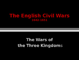 British History - The English Civil Wars