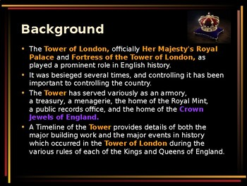 British History - The Tower of London